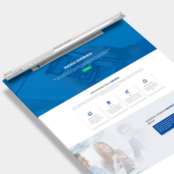 Money Back Consultancy website op maat