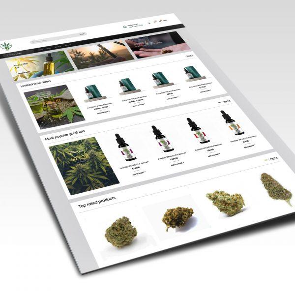 Website ontwerp Feelinglight.nl